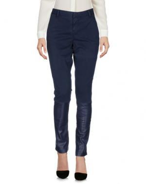 Повседневные брюки EACH X OTHER. Цвет: темно-синий
