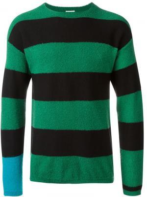 Полосатый свитер Paul Smith. Цвет: чёрный