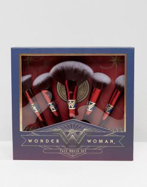 Luxie Набор щеток Wonder Woman. Цвет: мульти