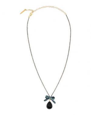 Ожерелье LA HORMIGA. Цвет: черный