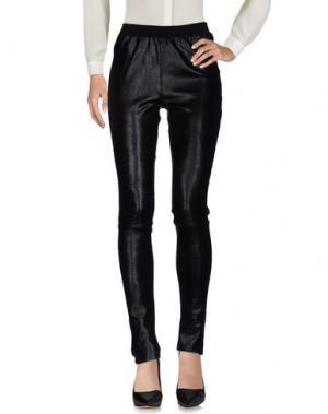 Повседневные брюки UTZON. Цвет: черный