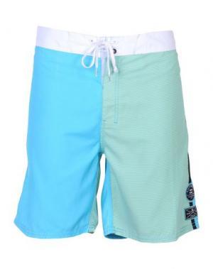 Пляжные брюки и шорты BILLABONG. Цвет: зеленый