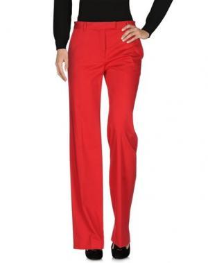 Повседневные брюки BOULE DE NEIGE. Цвет: красный
