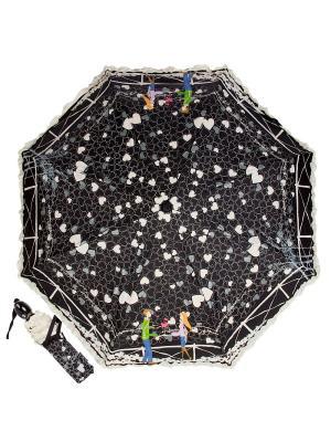 Зонт складной EMME M383C-OC Bridge Beige. Цвет: черный