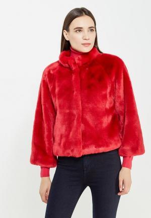 Шуба Liu Jo Jeans. Цвет: красный