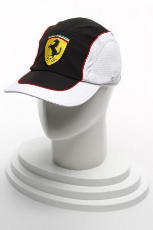 Кепка Феррари Ferrari. Цвет: белый, черный