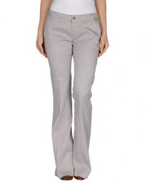 Повседневные брюки MANILA GRACE. Цвет: серый