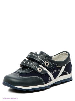 Ботинки Детский скороход. Цвет: синий