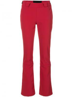 Расклешенные брюки Ancelle Perfect Moment. Цвет: красный