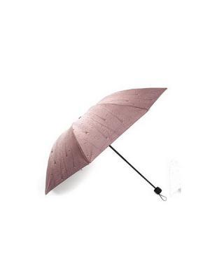 Зонт KONONO. Цвет: коричневый