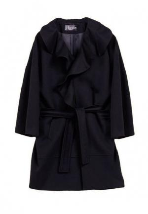Пальто Heresis. Цвет: черный