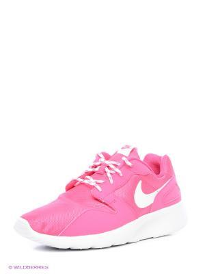 Кроссовки NIKE KAISHI (GS). Цвет: белый, бледно-розовый