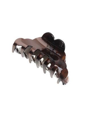 Заколка-краб Gusachi. Цвет: коричневый