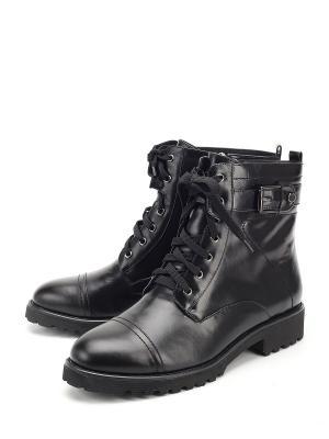 Ботинки Lazzaro. Цвет: черный