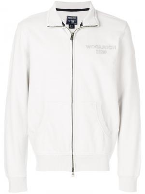 Zipped jacket Woolrich. Цвет: серый