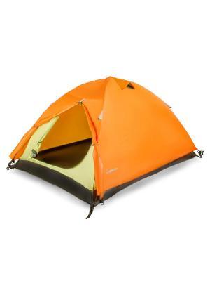 Палатка 2-х местная  A2 Larsen. Цвет: серый, оранжевый
