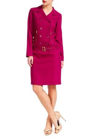 Платье PAMELA MILANO. Цвет: фиолетовый