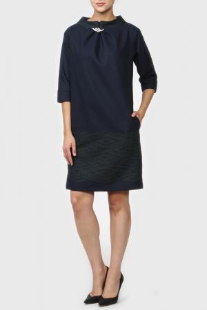 Платье Krisna. Цвет: сине-зеленый
