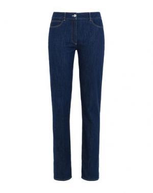 Джинсовые брюки GIORGIO GRATI. Цвет: синий