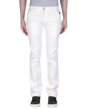 Повседневные брюки NICHOL JUDD. Цвет: белый