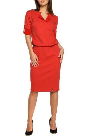 Dress BeWear. Цвет: red