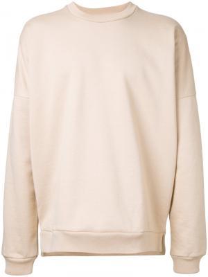 Dropped shoulder sweatshirt monkey time. Цвет: телесный
