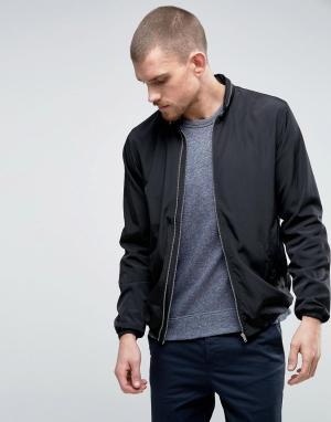 YMC Куртка с двойной молнией. Цвет: черный