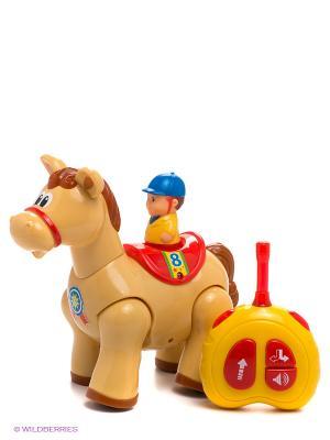 Радиоуправляемая игрушка Пони Kiddieland. Цвет: кремовый, желтый, красный