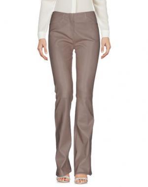 Повседневные брюки JITROIS. Цвет: серый