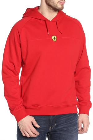 Толстовка Скудетто Страйп Ferrari. Цвет: красный