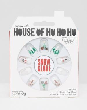 Elegant Touch Накладные ногти House Oh Ho от. Цвет: мульти