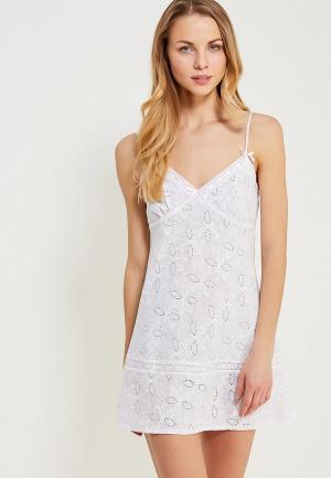 Сорочка ночная Mia-mella. Цвет: белый