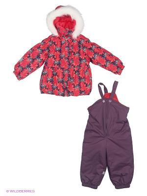 Комплект одежды Kerry. Цвет: фиолетовый, красный, белый