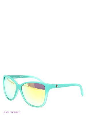 Солнцезащитные очки Franco Sordelli. Цвет: зеленый, желтый