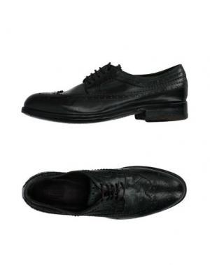 Обувь на шнурках PREVENTI. Цвет: изумрудно-зеленый