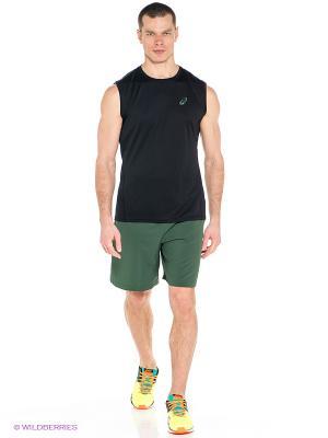 Шорты Athlete 2-in-1 Short ASICS. Цвет: зеленый