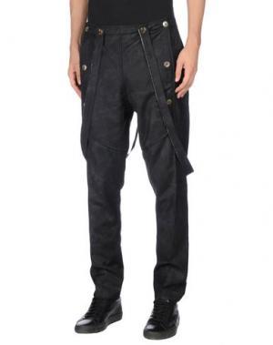 Повседневные брюки MANOSTORTI. Цвет: черный