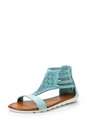 Сандалии Sweet Shoes. Цвет: бирюзовый