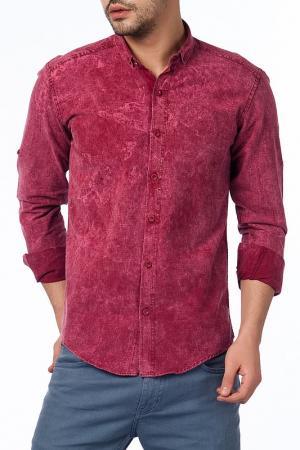 Рубашка Saint loren. Цвет: красный
