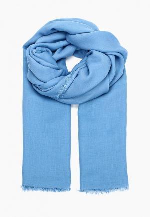 Палантин Coccinelle. Цвет: голубой