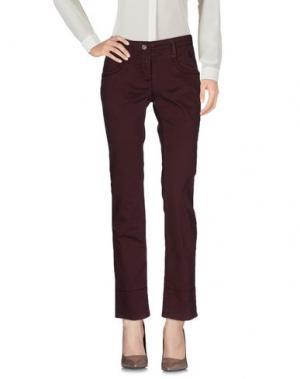 Повседневные брюки GANESH. Цвет: какао