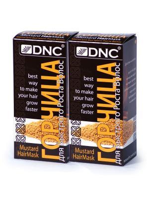Набор для ухода за волосами:  Горчица (100 г) - 2 шт DNC. Цвет: желтый