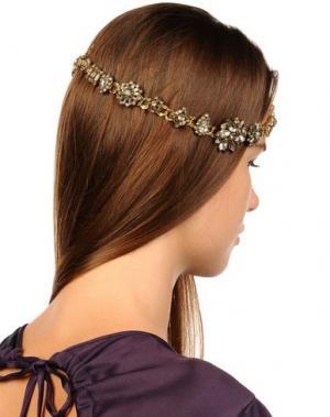 Аксессуар для волос ERICKSON BEAMON. Цвет: платиновый