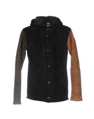 Куртка D'AMICO. Цвет: черный