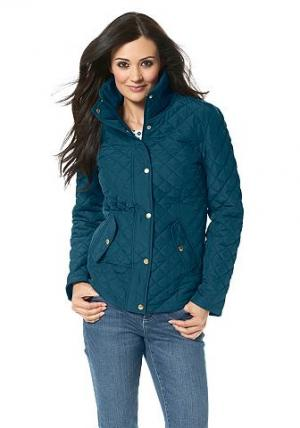 Chillytime, стёганая куртка CHILLYTIME. Цвет: тёмно-бирюзовый