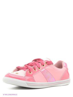 Кроссовки Bibi. Цвет: розовый