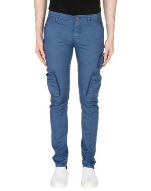 Повседневные брюки FIFTY FOUR. Цвет: синий
