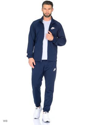 Спортивный костюм M NSW TRK SUIT PK BASIC Nike. Цвет: синий, белый