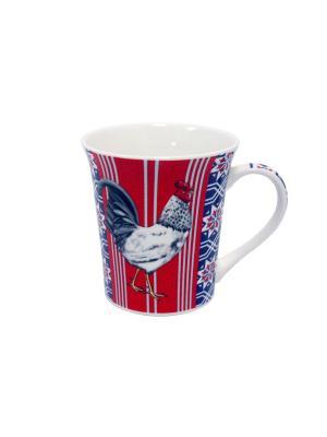 Кружка Великолепные петухи-3 350 мл п/уп (асс) Elff Ceramics. Цвет: синий, голубой, красный, белый