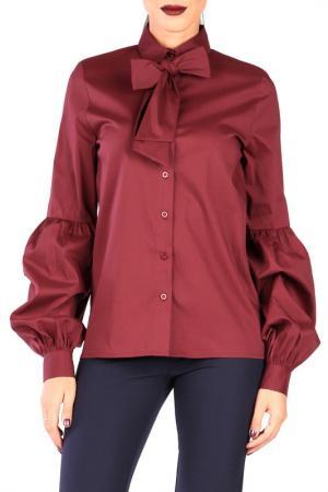 Блуза CARLA BY ROZARANCIO. Цвет: красный